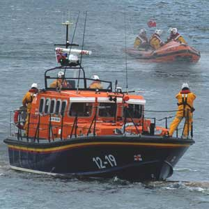 The Amble Lifeboats